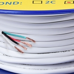 Cable Matters 12 AWG CL2 In Wall Rated Oxygen-Free Bare Copper 4 Conductor Speaker Wire