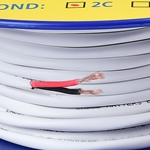 Cable Matters 14 AWG CL2 In Wall Rated Oxygen-Free Bare Copper 2 Conductor Speaker Wire