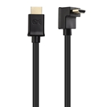 Cable Matters Right Angle HDMI Cable (90 Degree HDMI Right Angle Cable) - HDR and 4K Resolution Ready