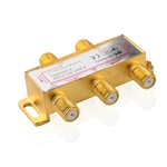 Cable Matters 2-Pack 4-Way 2.4 Ghz Coaxial Splitter