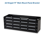 "Cable Matters 4U Hinged 19"" Wall-Mount Panel Bracket"