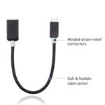 Cable Matters USB C to USB Adapter (USB to USB C Adapter/USB-C to USB 3.0 Adapter/USB C OTG)