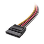 Cable Matters 3-Pack 15 Pin SATA Power Extension Cable 12 Inches