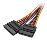 Cable Matters (3 Pack) 15 Pin SATA Power Y-Splitter Cable 8 Inches