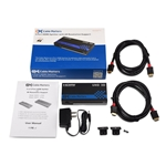 Cable Matters 4 Port 4K HDMI Splitter 4K Resolution Ready