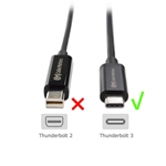 Cable Matters USB C to VGA Adapter (USB-C to VGA Adapter) - Thunderbolt 3 Port Compatible for MacBook Pro, Dell XPS 13/15, HP Spectre x360, Surface Book 2, Lenovo Yoga 910 and More