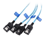 Cable Matters Internal Mini SAS to SATA Reverse Breakout Cable (SFF-8087 to SATA) 1.6 Feet