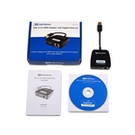Cable Matters USB 3.0 to HDMI Adapter with Gigabit Ethernet in Black