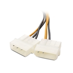 Cable Matters (2-Pack) 6 Pin PCIe to Molex (2X) Power Cable