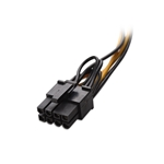 Cable Matters 2-Pack 8-Pin PCIe to 2xSATA Power Cable 5 Inches
