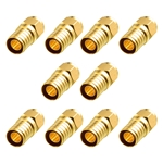 Cable Matters 10-Pack Coaxial F-Type Crimp Connector for RG6