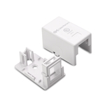 [UL Listed] Cable Matters (5 Pack) 1-Port Keystone Jack Surface Mount Box