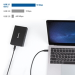 Cable Matters [USB-IF Certified] 10 Gbps USB 3.1 Type-C Gen 2 Cable (USB C Gen 2 Cable/USB-C Gen 2 Cable) with 4K Video and 100W Power Delivery / 1m