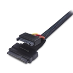 Cable Matters Internal 12G U.2 Cable (Mini SAS HD to U.2 / SFF-8643 to SFF-8639 Cable) with SATA Power - 0.7m/2 Feet