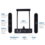 Cable Matters USB-C Docking Station (Smartphone Dock) with 4K 60Hz Video and Charging for 2018 iPad Pro, Samsung Galaxy S10/S10+/S10e, S9/S9+, S8/S8+, Note 9/Note 8, Galaxy Tab S4, LG V30, and More