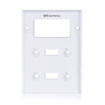 Cable Matters (5-Pack) Triple-Gang Toggle Switch (Wall Switch Cover) Wall Plate for Decorator Device
